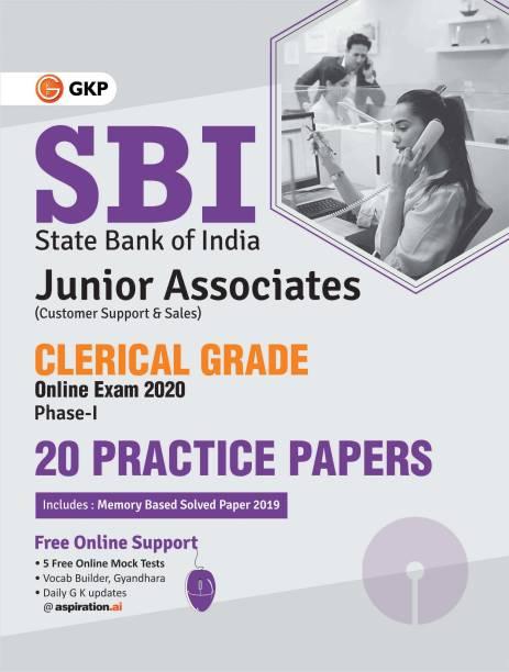 Sbi 2020 Clerical Grade Ph I Junior Associates 20 Practice Sets