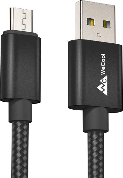 WeCool Data Cable 1 m Nylon Braided Micro USB Cable