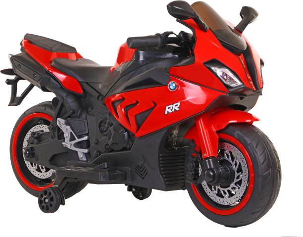 Toy House BMW S1000RR SuperBike with Rechargeable battery operated Ride-on for kids(3 to 8yrs),Red Bike Battery Operated Ride On