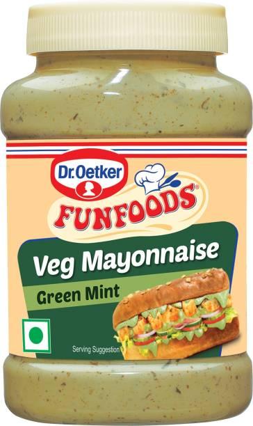 FUN FOODS Veg Mayonnaise Green Mint 250 g