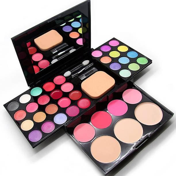 ads 39 Colors makeup kit & Lipstick (pink, 4.2 g )