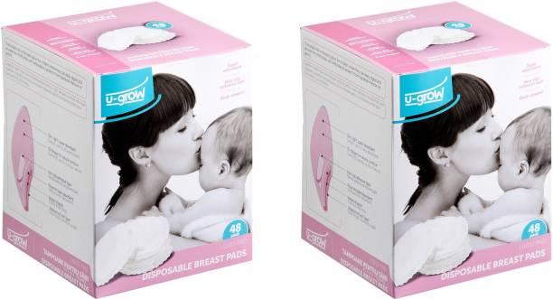 U-grow Disposable Breast Pads (Pack of 2) Nursing Breast Pad