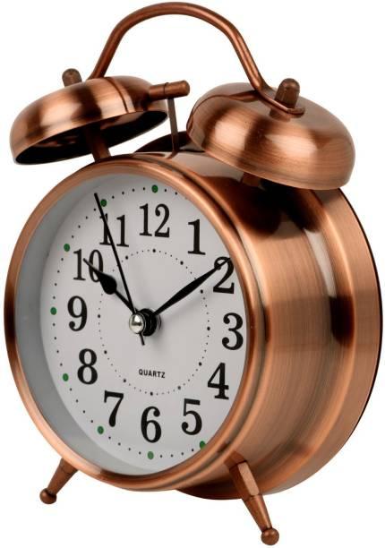 Flipkart SmartBuy Analog Maroon Clock