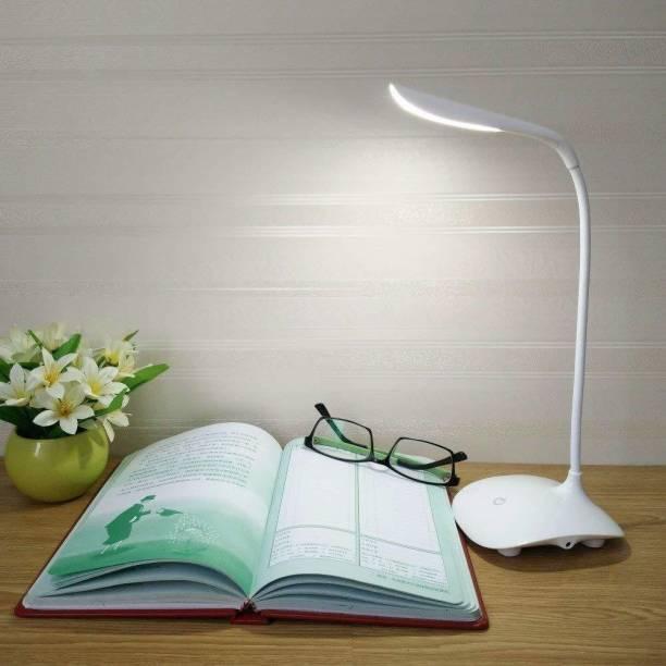 Khodalraj Enterprise KHODALRAJ USB LED Desk Lamp Table Light 3 Level of Brightness Flexible Neck Table Lamp Table Lamp (10 cm, Multicolor) Table Lamp