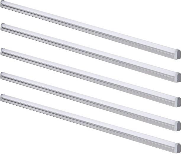 Syska Syska Tubelight 4 Feet 18 Watt (Pack of 5) Straight Linear LED Tube Light