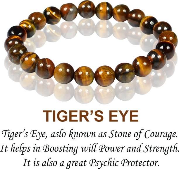 REIKI CRYSTAL PRODUCTS Crystal Tiger's Eye, Beads, Crystal Bracelet