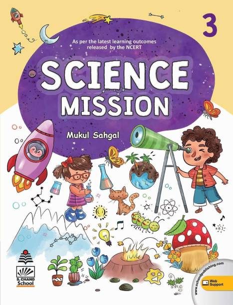 Science Mission Class 3 (For 2020-21 Exam)