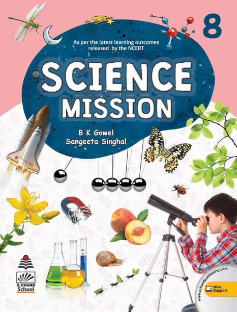 Science Mission Class 8 (For 2020-21 Exam)