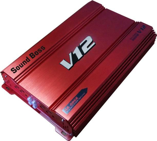 Sound Boss 4 CHANNEL AMPLIFIER 9000W MAX OUTPUT POWER BRIDGEABLE Multi Class AB Car Amplifier