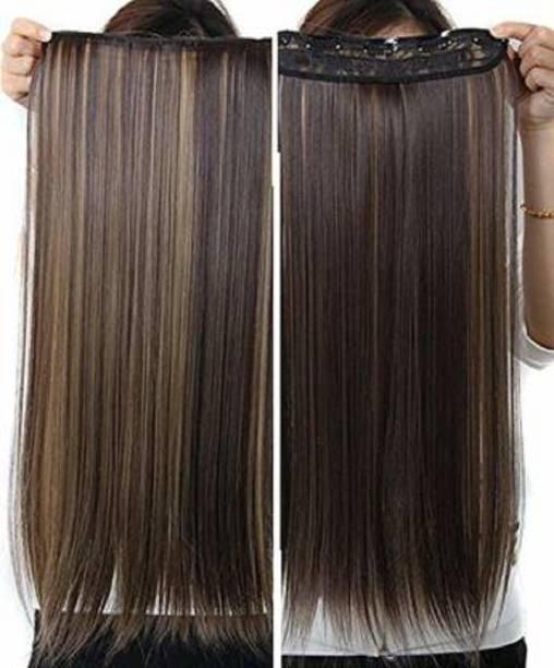Abrish Unique Goldenhilight straight Hair Extension