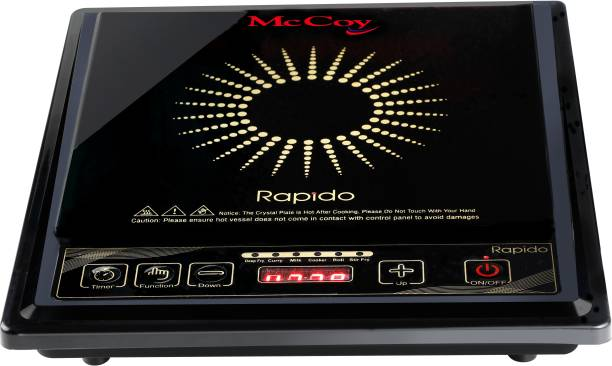 Mccoy Rapido 1800 Watts Induction Cook tops Induction Cooktop