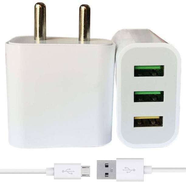FURTHEST ABY-06 3.1 A Multiport Mobile Charger with Detachable Cable