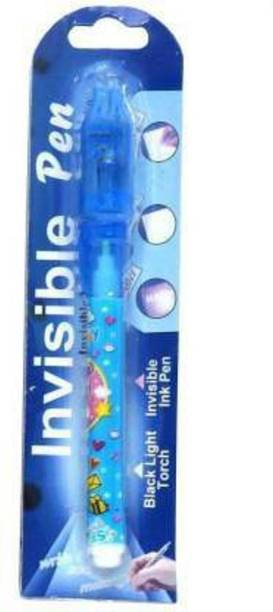tirupaticollection Invisible Ink Magic Pen with UV Light Return gift Ball Pen