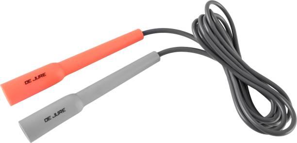 DE JURE FITNESS Skipping Rope Orange Grey Grey Freestyle Skipping Rope