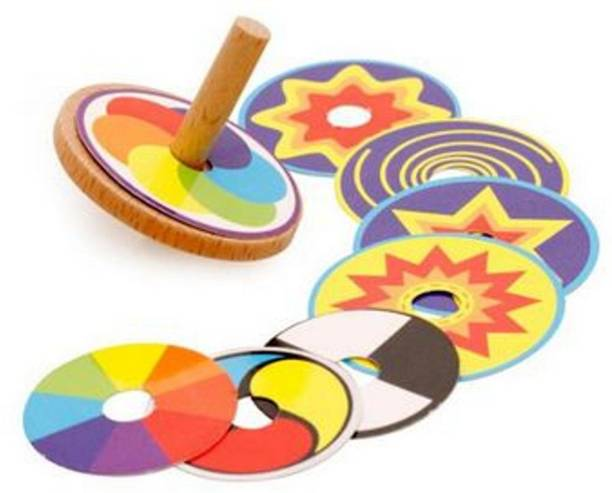Vihan electric vehicles company Wooden Hand Spinner - 3 to 18 Years Old