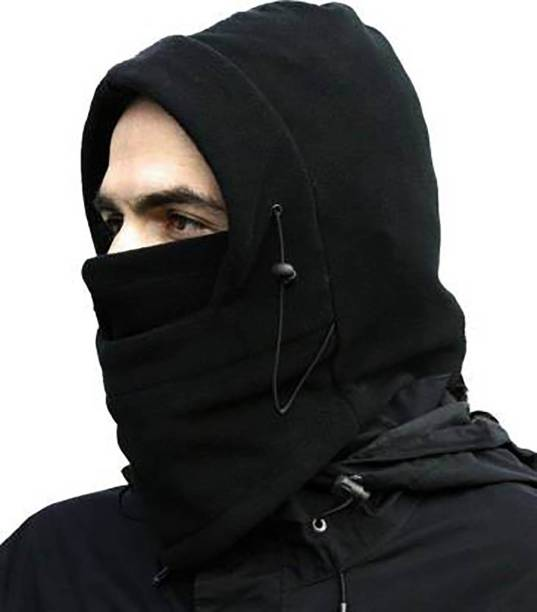 aksmit Black Bike Face Mask for Men & Women
