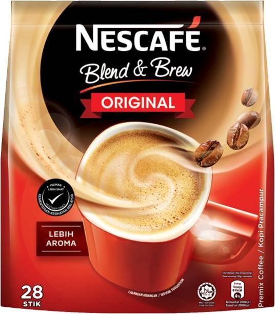 Nescafe Blend & Brew Original 3in1 28-Stick (Imported) Instant Coffee