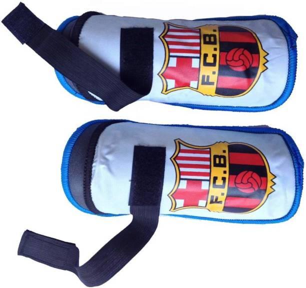 Navex Shin Guard Pads Protector club Barchelona 1 Football Shin Guard
