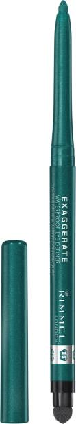 Rimmel London Exaggerate Waterproof Eye Definer - Emerald Sparkle-250-EMERALD SPARKLE