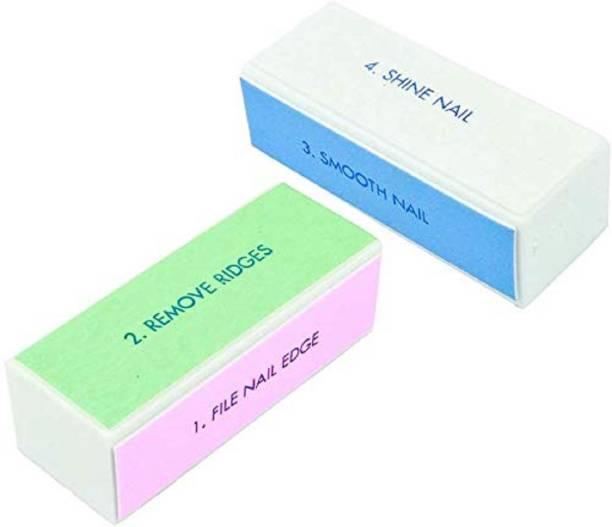 sweetpea Nail Buffer Block Shiner File 4 sides Nail Art Polisher Nail File
