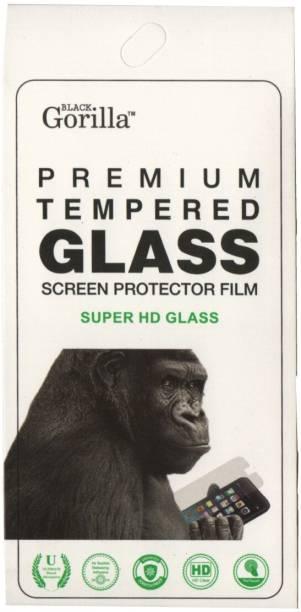 BLACK GORILLA Tempered Glass Guard for I Kall K400