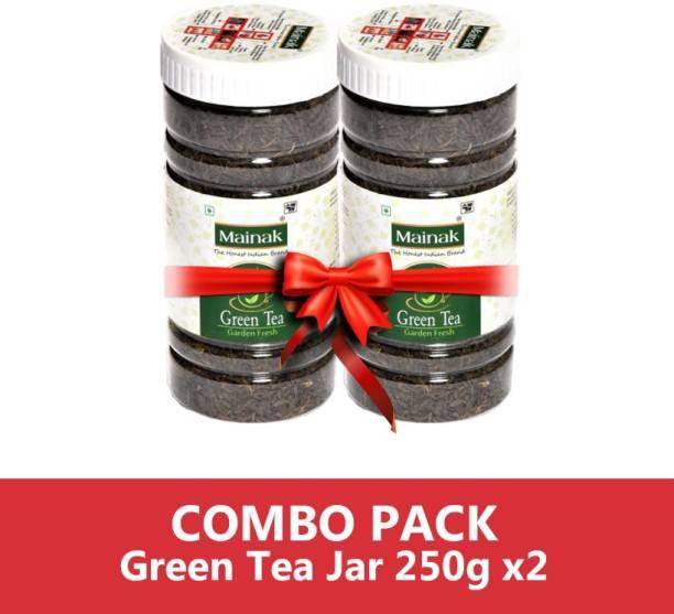 Mainak 100% Natural Unflavoured Green Tea Plastic Bottle
