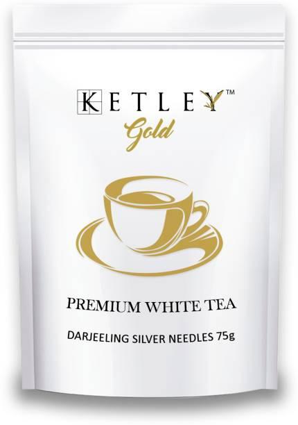 Ketley Gold Darjeeling Silver Needle 75g White Tea Pouch