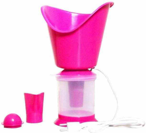 WILL GIBBINS Water Steam inhaler care all in one Vaporizer Facial Streamer for Deep Face Cleaning Vaporizer & Steamer for Cough & Cold, Winter Vaporizer Vaporizer (Pink) Vaporizer