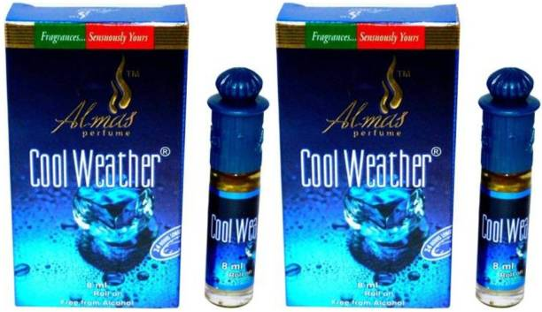 Almas Cool Weather & Cool Weather Floral Attar