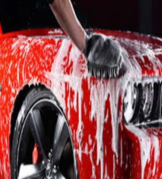INDOPOWER CAR WASH SHAMPOO , CAR WAX POLISH, CAR 5X RUBBING POLISH COMBO PACK Car Washing Liquid