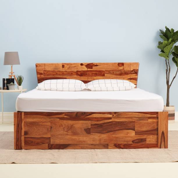 Wakefit Auriga Solid Wood King Box Bed