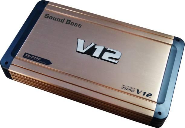 Sound Boss DUAL COIL 4 CHANNEL AMPLIFIER 9200W MAX OUTPUT POWER BRIDGEABLE Multi Class AB Car Amplifier