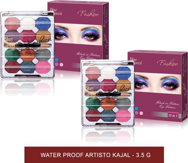 BLUE HEAVEN 12 In 1 Fashion Eye Glitter 20 g