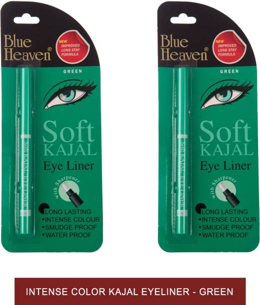 BLUE HEAVEN Soft Kajal Eyeliner - Green