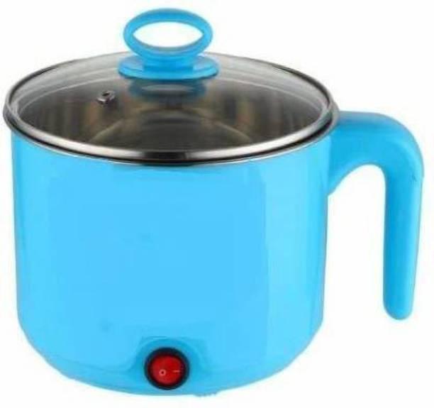 LUDDITE Electric Multifunction Cooking Pot 1.5 Litre Multi-Purpose Cooker Egg Cooker, Rice Cooker, Egg Boiler