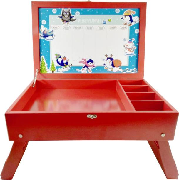 Enigmatic Woodworks Bed Table For Kids Wood Portable Laptop Table
