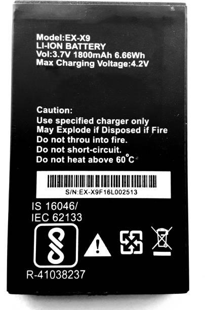 FULL CELL Mobile Battery For  Exmart X9 ( EX-X9 )