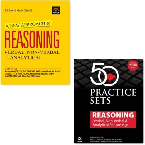 A New Approach To Reasoning Verbal & Non-Verbal - Verbal, Non - Verbal & Analytical + 50 Practice Sets Reasoning ( Verbal., Non Verbal & Analytical Reasoning )