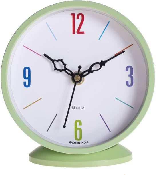Flipkart SmartBuy Analog Green Clock