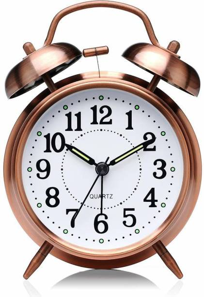 Rk Analog Copper Clock