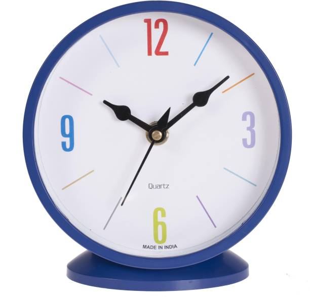Flipkart SmartBuy Analog Blue Clock