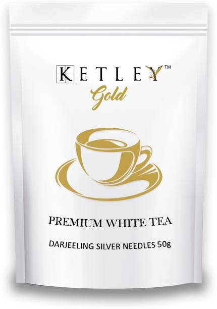 Ketley Gold Darjeeling Silver Needle 50g White Tea Pouch
