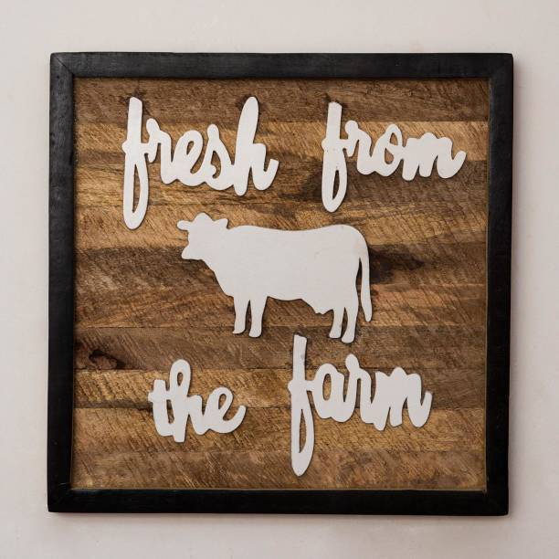 CASA DECOR Wall Home Decor | Sign for Kitchen, Living Room, Dining Room, Bedroom | Solidwood Decorative - Wall Art