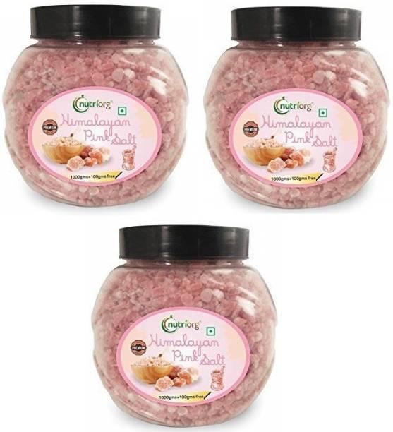 Nutriorg HIMALAYAN PINK SALT COMBO (PACK OF 3)