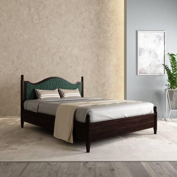 House of Pataudi Solid Wood Queen Bed