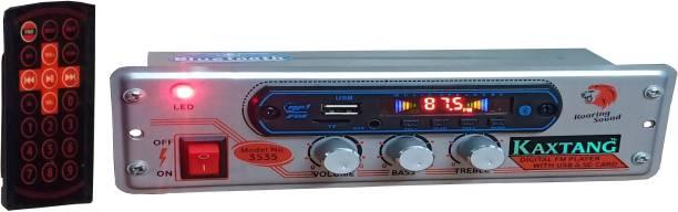 KAXTANG 4440 LAMBI PATTI silver CAR STEREO Mini Bluetooth Car Stereo/ FM /MP3/ AUX /USB/ BT /SD-MMC Car Stereo