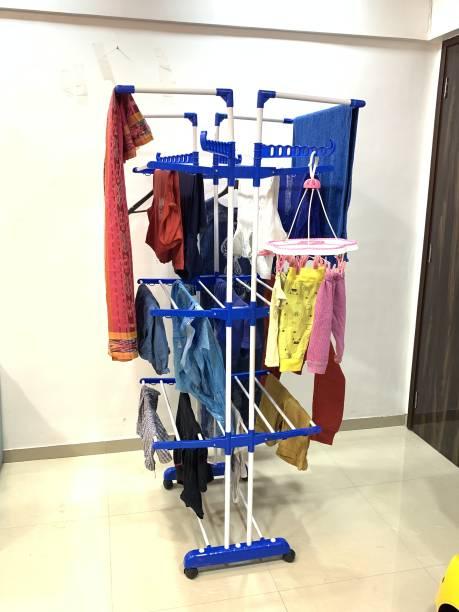 TNC Steel Floor Cloth Dryer Stand JB2MS-0010
