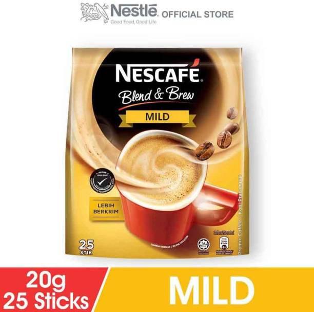 Nescafe Blend & Brew Mild 25-Stick (Imported) Instant Coffee