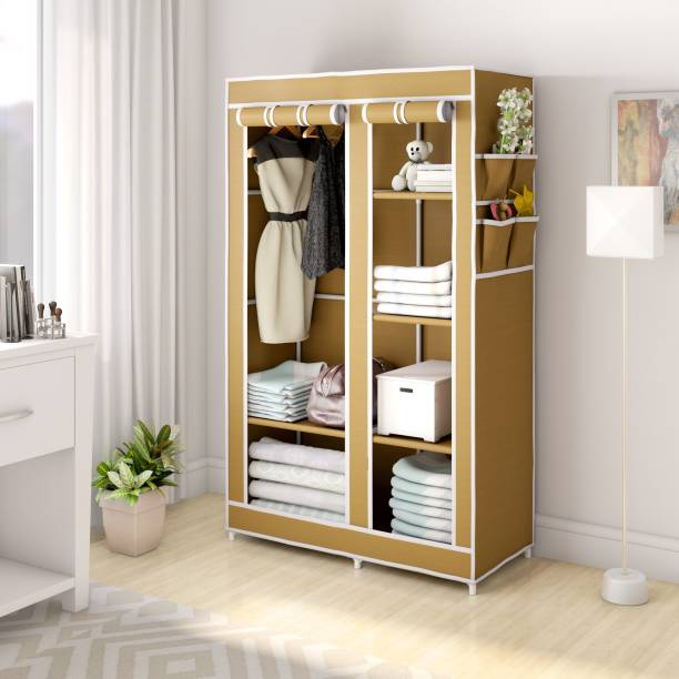 Flipkart Perfect Homes Studio 2 Door 6 Shelf PP Collapsible Wardrobe