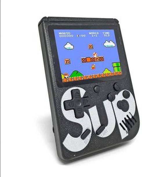 carexo SUP 400 in 1 Games Retro Game Box Console Handheld Game PAD Gamebox (Batterry Included) with TV OUT CABLE, CHARGING CABLE 1 GB with super mario , contra , etc
